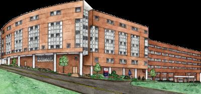 Butler Memorial Hospital - Patient Tower