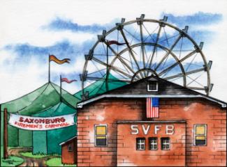 Saxonburg Fire Station & Carnival