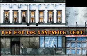 Hot Dog Sandwich Shop